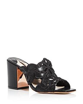 Sophia Webster - Women's Cassia Embroidered Block-Heel Sandals