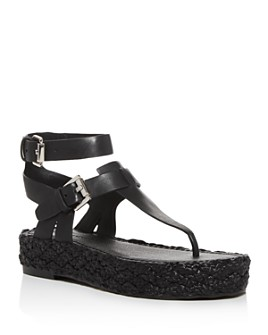 Sigerson Morrison - Women's Jabel Buckle Platform Sandals