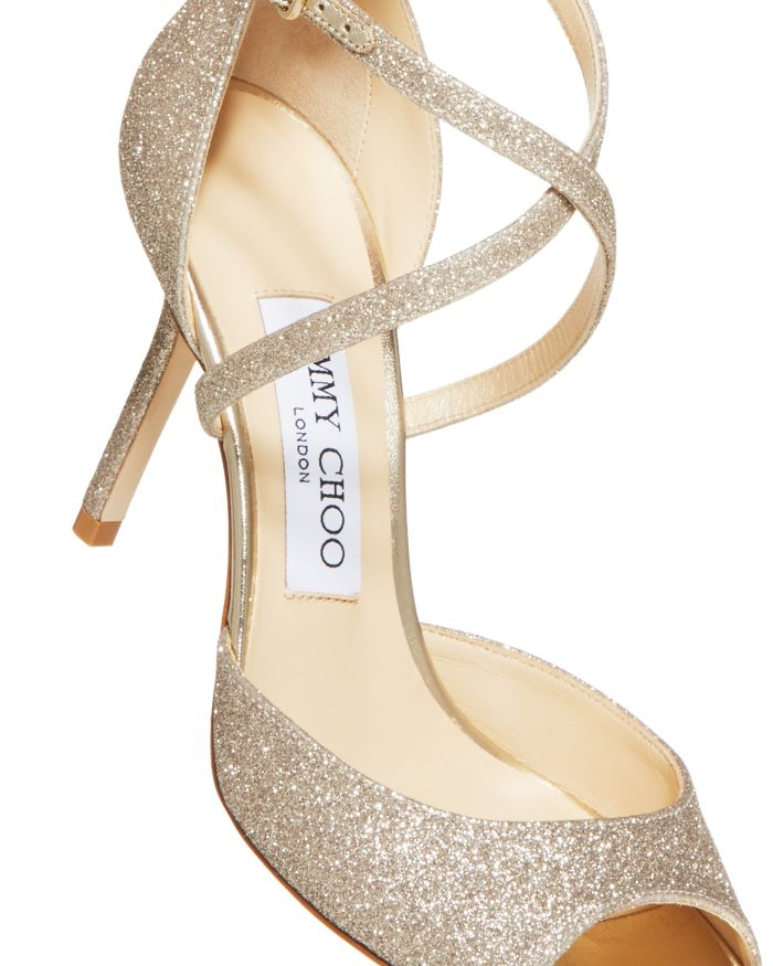 Jimmy Choo Women's Emsy 85 High-Heel Sandals    Bloomingdale's