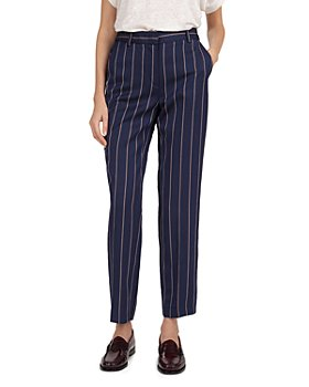 Gerard Darel - Striped Straight-Leg Pants