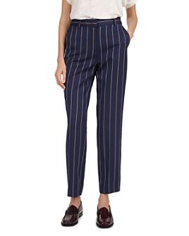 Gerard Darel - Striped Straight-Leg Pants