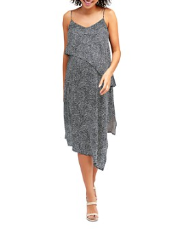 Nom Maternity - Beatrice Asymmetric Maternity & Nursing Dress