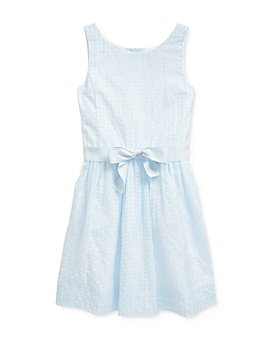 Ralph Lauren - Girls' Windowpane Dress - Big Kid