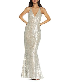Dress the Population - Sharon Sequined Lace Gown
