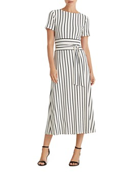 Ralph Lauren - Striped Jersey A-Line Dress
