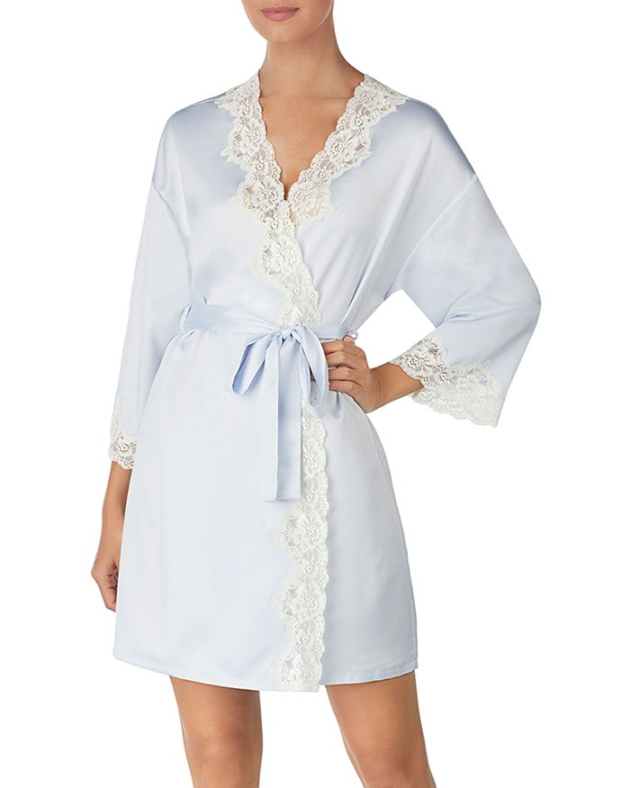 Ralph Lauren - Signature Collection Satin Wrap Robe