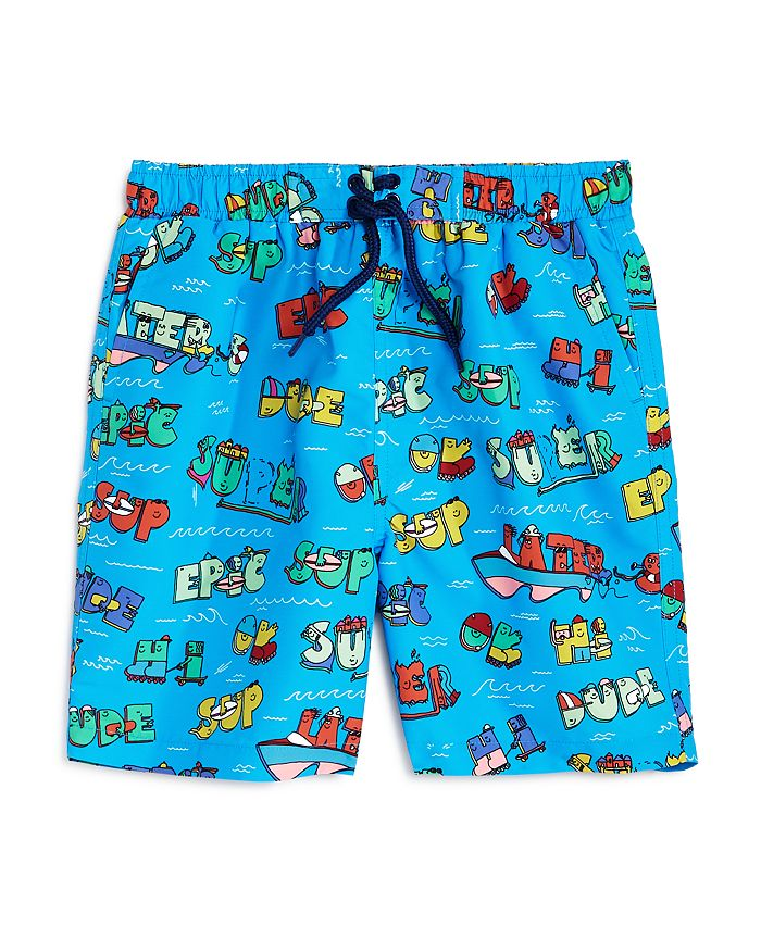 Stella McCartney - Boys' Printed Swim Trunks - Little Kid