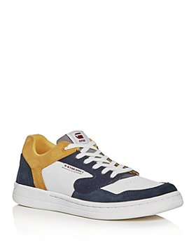 G-STAR RAW - Men's Mimemis Suede & Mesh Low-Top Sneakers