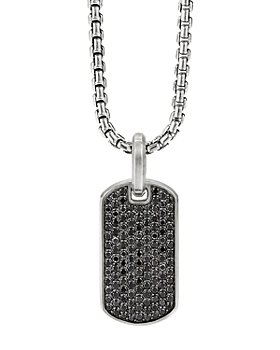 David Yurman - Streamline® Tag Pendant with Pavé Diamonds & Gemstones