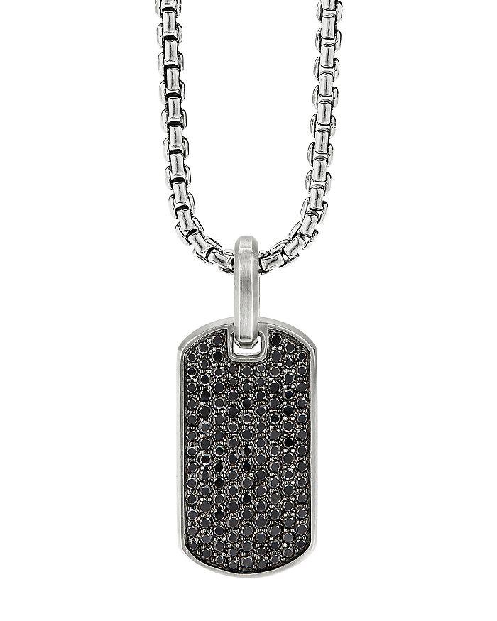 David Yurman - Streamline® Tag Pendant with Pavé Diamonds & Gemstones