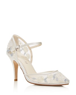 Bella Belle - Women's Viola Embellished Mary-Jane Pumps