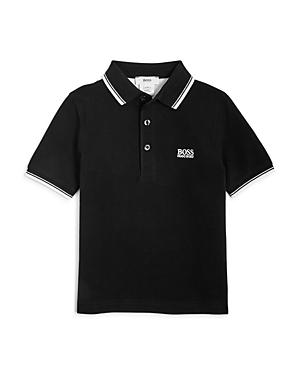 'Boss Hugo Boss Boys' Embroidered Short Sleeve Polo Shirt - Little Kid, Big Kid