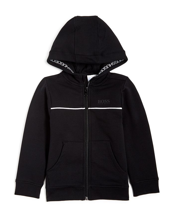 BOSS Hugo Boss - Boys' Zip-Up Hoodie - Little Kid, Big Kid
