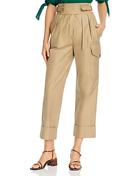 See by Chloé - Cotton High-Waist Trousers