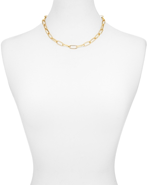 Aqua Chain Toggle Necklace, 8 - 100% Exclusive