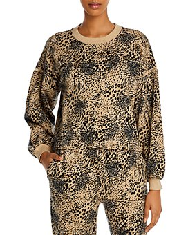 Joie - Jeyne Animal Print Sweatshirt - 100% Exclusive