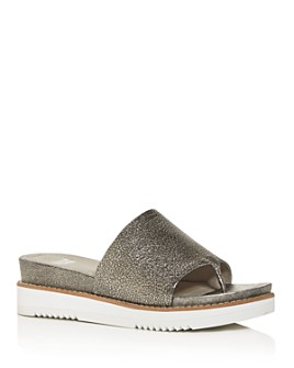 Eileen Fisher - Women's Touch Platform Slide Sandals