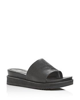 Eileen Fisher - Women's Touch Platform Slide Sandals