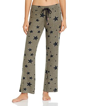 PJ Salvage - Weekend Warrior Star Print Pants