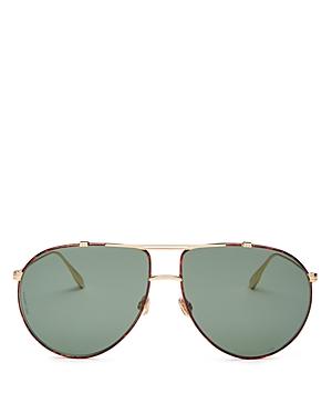 Dior Women\\\'s DiorMonsieur1 Brow Bar Aviator Sunglasses, 63mm-Jewelry & Accessories