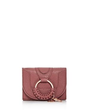 See By Chloe Hana Leather Card Case