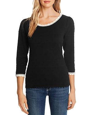 CeCe Pompom Pullover Sweater-Women