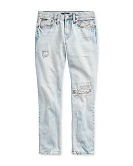Ralph Lauren - Boys' Sullivan Cotton Distressed Slim Jeans - Big Kid