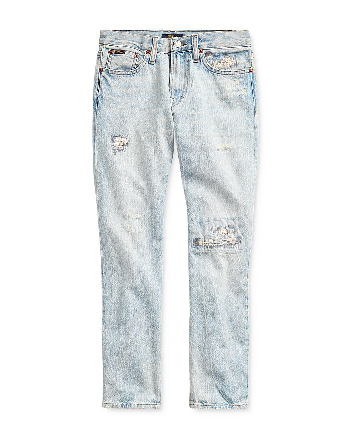 Ralph Lauren - Boys' Sullivan Cotton Distressed Slim Jeans - Big Kid