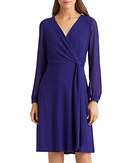 Ralph Lauren - Crossover Georgette Dress