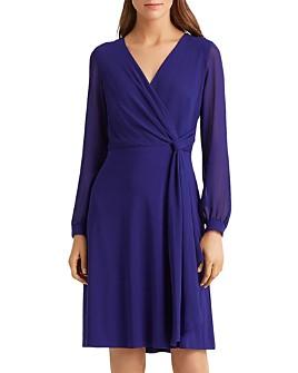 Ralph Lauren - Crossover Georgette Dress