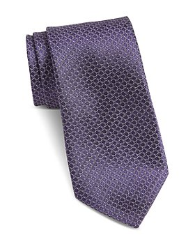 John Varvatos Star USA - Fillmore Mini-Circle Classic Silk Tie