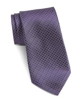 John Varvatos Star USA - Fillmore Mini-Circle Classic Silk Tie