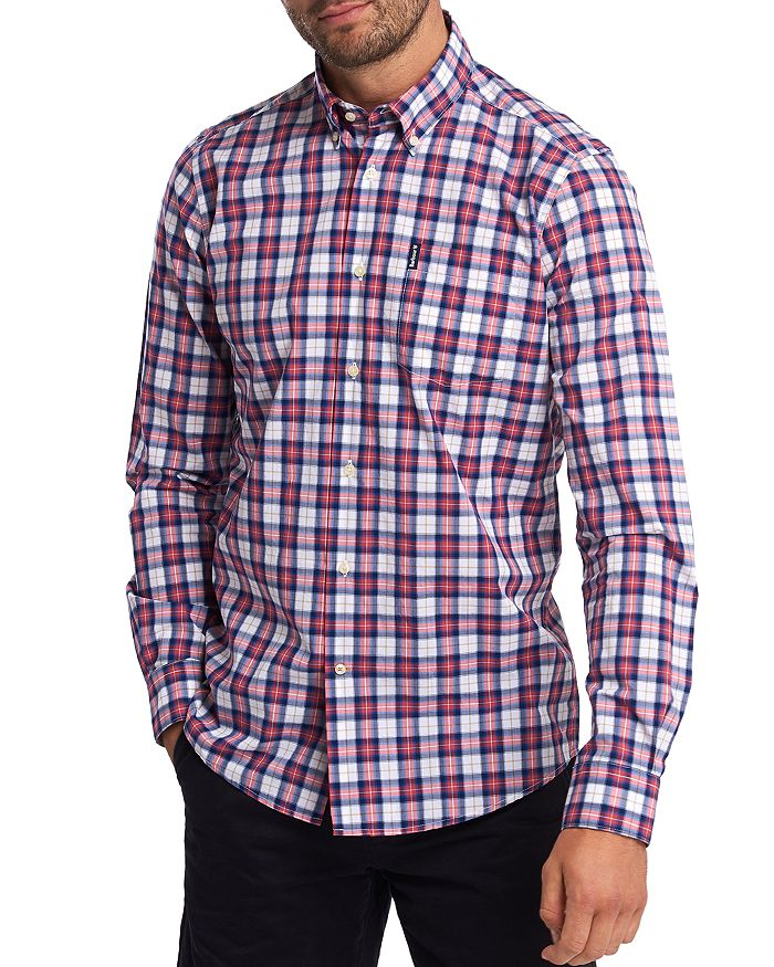 Barbour - Highland Check Regular Fit Button-Down Shirt
