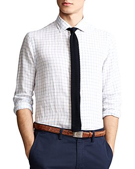 Polo Ralph Lauren - Classic Fit Plaid Linen Shirt