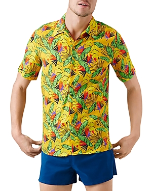 Vilebrequin Go Bananas! Charli Short-Sleeve Shirt