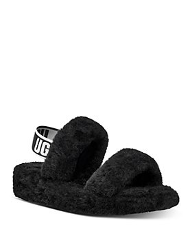 UGG® - Women's Oh Yeah Shearling Slingback Slippers