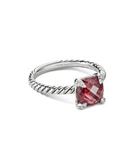 David Yurman - Châtelaine® Ring with Gemstones and Diamonds