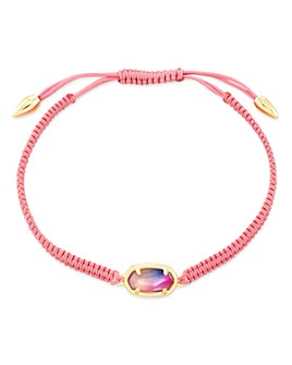 Kendra Scott - 14K Gold-Plated Grayson Watercolor Illusion Adjustable Friendship Bracelet