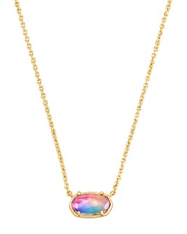 "Kendra Scott - Grayson Watercolor Illusion Pendant Necklace, 17""-20"""
