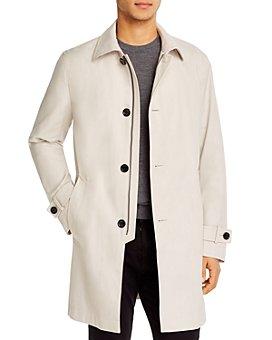 BOSS - Dain Water-Repellent Regular Fit Overcoat