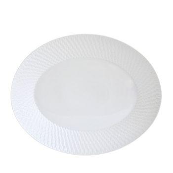 Bernardaud - Twist Collection Oval Platter - 100% Exclusive