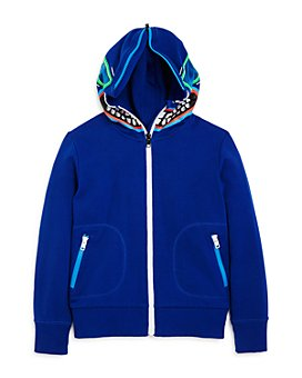 Stella McCartney - Boys' Cotton Zip-Up Monster Hoodie - Little Kid