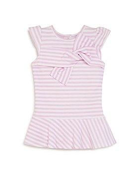 Habitual Kids - Girls' Liliana Stripe Twisted-Front A-Line Dress - Little Kid