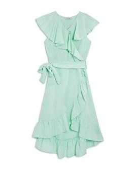 Habitual Kids - Girls' River Ruffle Wrap Dress - Big Kid