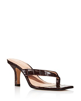 KURT GEIGER LONDON - Women's Bianka Croc-Embossed Strappy High-Heel Sandals - 100% Exclusive