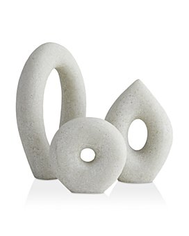Arteriors - Coco Sculptures, Set of 3