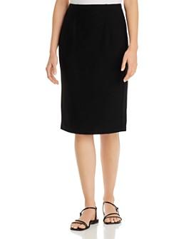 Eileen Fisher Petites - Petites High-Waist Pencil Skirt