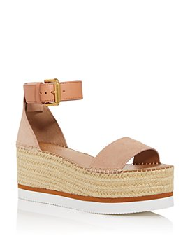 See by Chloé - Women's Glyn Wedge Platform Espadrille Sandals