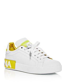 Dolce & Gabbana - Women's Low Top Sneakers