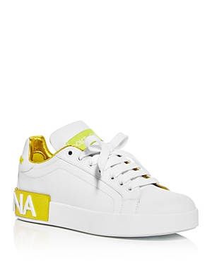 Dolce & Gabbana Women\\\'s Low Top Sneakers